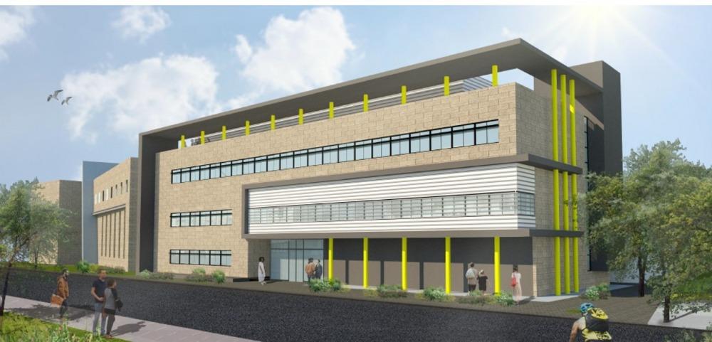 """בנין חדש למעבדות הוראה ע""""ש ברנדמן"""